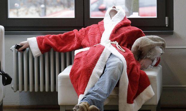 taeglich gruesst Santa Claus