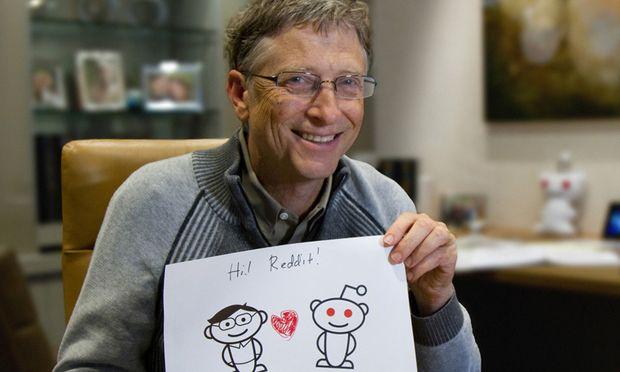 Bill Gates stellte sich User-Fragen auf Reddit