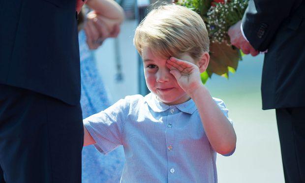 Prinz George wurde unabsichtlich zum Markenbotschafter für die traditionellen Linsen aus Puy-en-Velay in Frankreich. Sie stehen auf dem Speiseplan der Schulkantine von Thomas's, seiner neuen Schule.