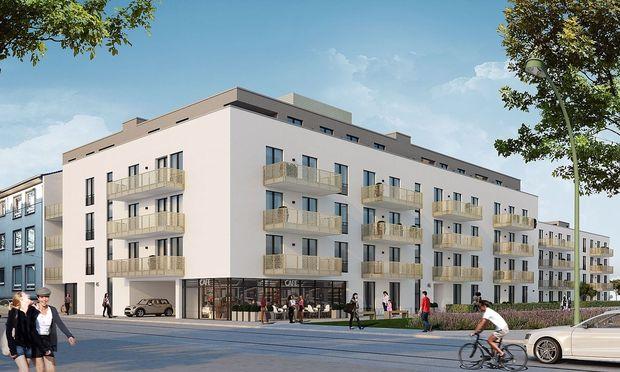 Visualisierung: Wohnquartier in Düsseldorf-Rath