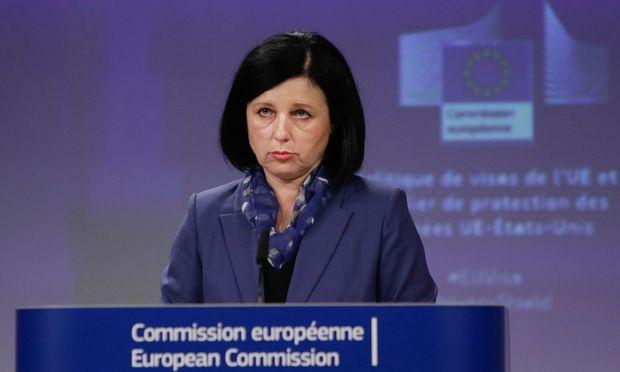 EU-Justizkommissarin Věra Jourová