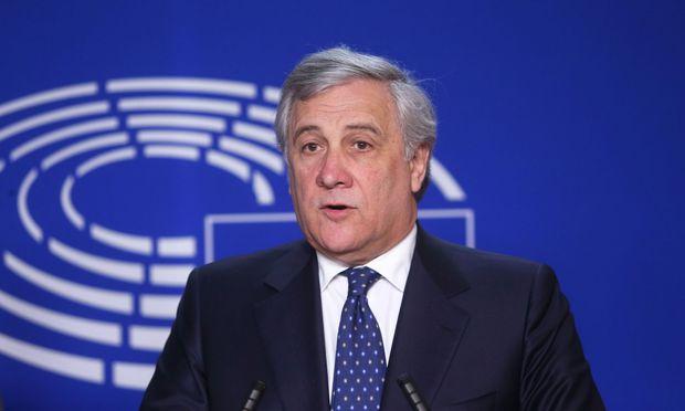 EU-Parlamentspräsident Antonio Tajani hat bei einer Gedenkfeier zum Zweiten Weltkrieg Slowenien und Kroatien vor den Kopf gestoßen.