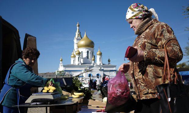 Bananen wachsen in Russland nicht. Der Großteil landwirtschaftlicher Erzeugnisse aber wird nicht mehr importiert.