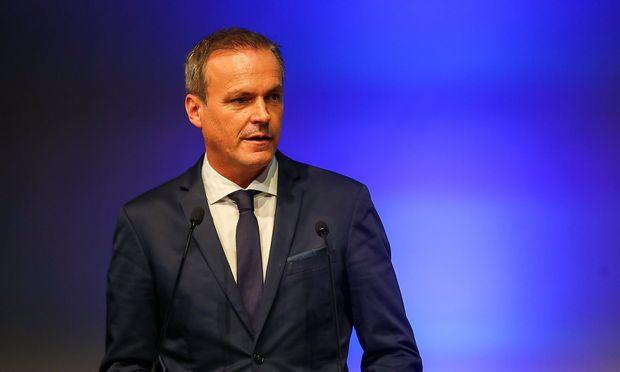 Finanzminister Eduard Müller (Archivbild) vertrat Österreich beim EU-Rat in Brüssel.