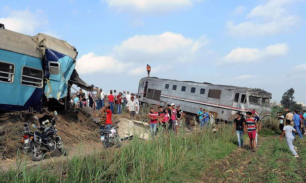 Mindestens 43 Tote und mehr als hundert Verletzte bei Zugunglück in Ägypten