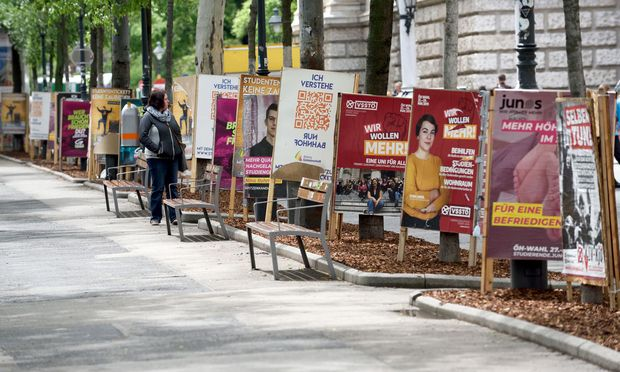 Neun Listen kämpfen bei den Wahlen zur Österreichischen Hochschülerschaft (ÖH) von 27. bis 29. Mai bundesweit um die Stimmen der rund 338.000 Studierenden.