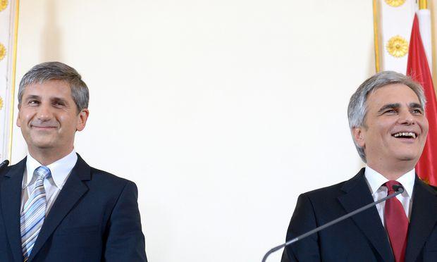 PK ZU KOALITION SP� UND �VP: SPINDELEGGER / FAYMANN