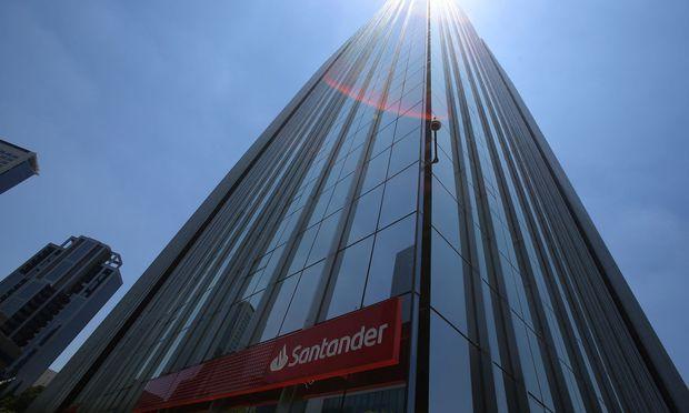 Die spanische Santander ist die größte Bank der Eurozone.