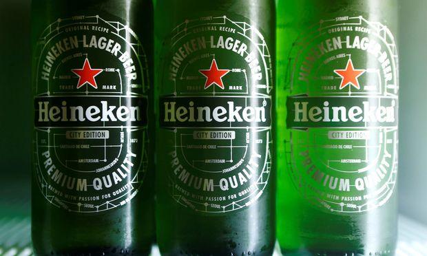 Der Durst auf Heineken-Biere hat dem zweitgrößten Brauereikonzern hinter Anheuser Busch 2018 Zuwächse beschert.