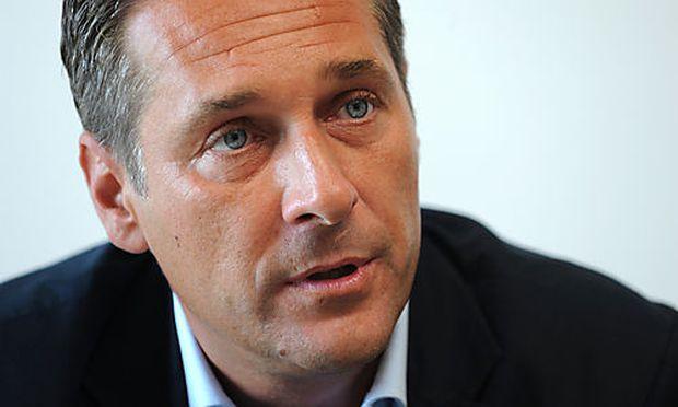 Heinz Christian Strache, FP�  Foto: Clemens Fabry