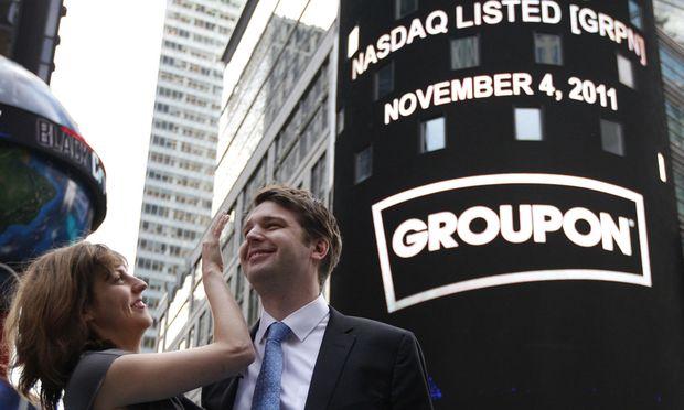 Groupon-Aktie auf Rekordtief