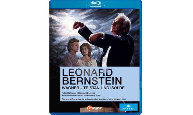 """Halbszenisch. """"Tristan und Isolde"""", von Bernstein dirigiert."""