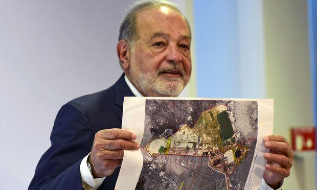 Carlos Slim will eine Milliarde Dollar in den neuen Flughafen von Mexiko-Stadt investieren