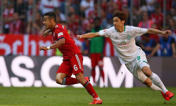 Bayern gegen Bremen