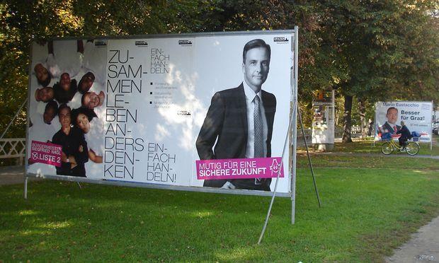 Wahlkampf Graz