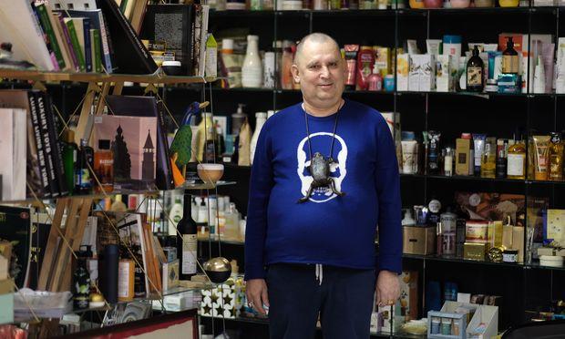 Andrej Trubnikow, 60, Gründer der Kosmetikmarke Natura Siberica. / Bild: (C) David Nauer