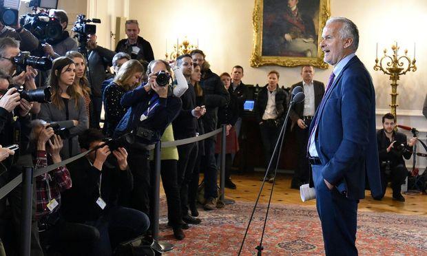 Der neue Minister für Justiz und Staatsreform, Josef Moser