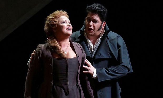 Anna Netrebko und Yusif Eyvazov in der Scala.