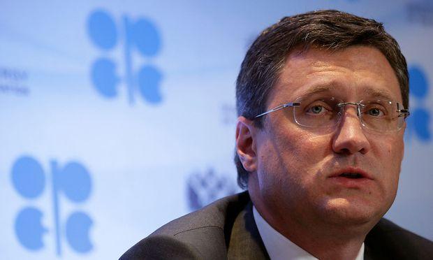 Archivbild: Russlands Energieminister Alexander Nowak  / Bild: REUTERS