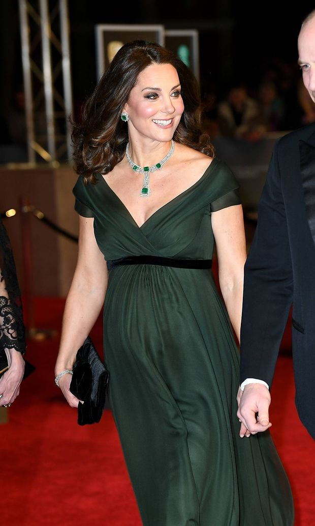 BAFTA Film Awards 2018 Arrivals London The Duke and Duchess of Cambridge attending the EE Britis