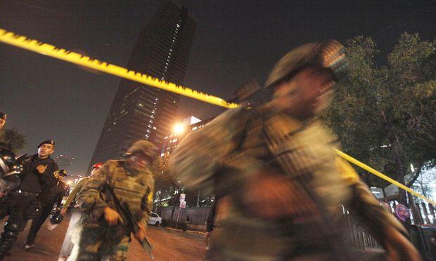 Explosion MexikoStadt Zahl Toten