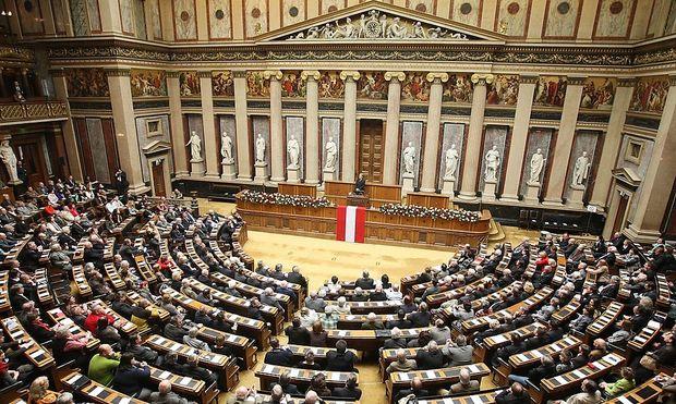 Der Staatsakt soll im historischen Sitzungssaal stattfinden