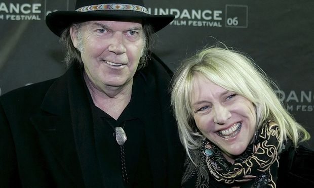 Neil Young und Pegi Young, 2006