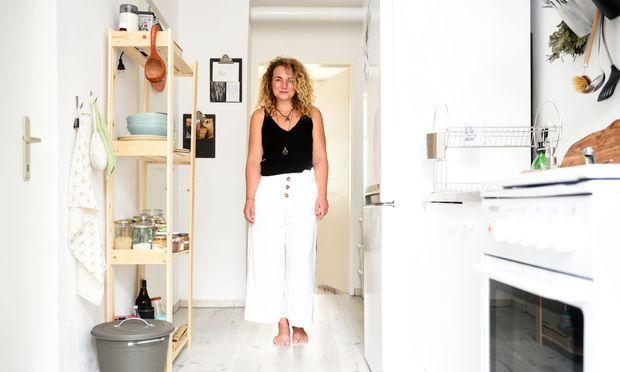 Lorraine Wenzel in ihrer Wiener Küche.