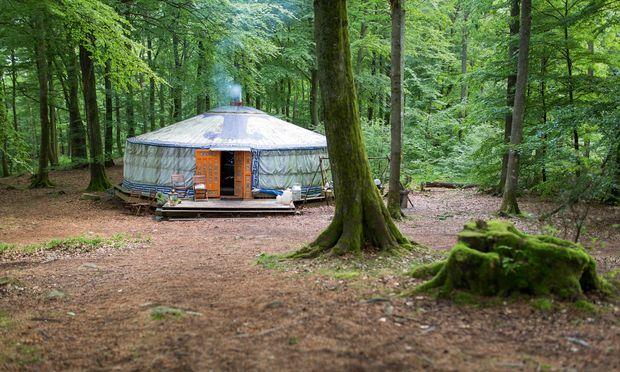 pure food camps die jurte der h hnerkopf und du. Black Bedroom Furniture Sets. Home Design Ideas