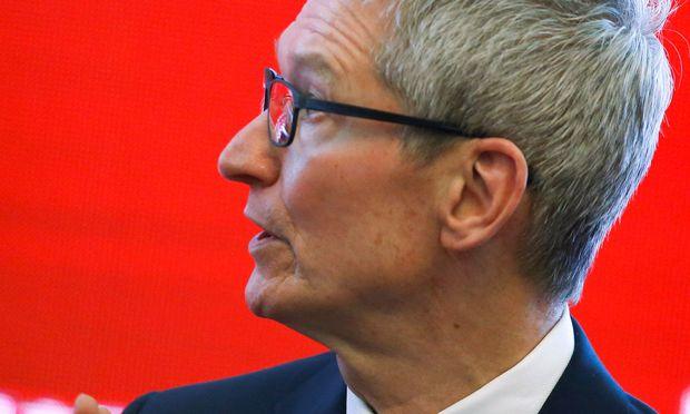 Apple-Chef Tim Cook setzt auch an den Börsen zu neuen Höhenflügen an.