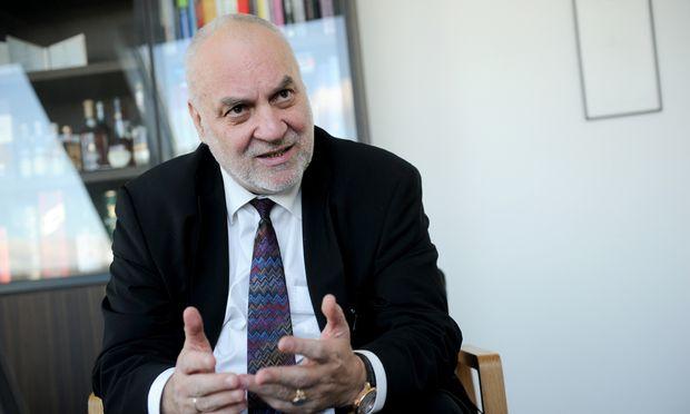 SFU-Rektor Alfred Pritz