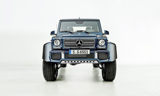 Der Mercedes-Maybach G 650 Landaulet wir in Graz gefertigt.