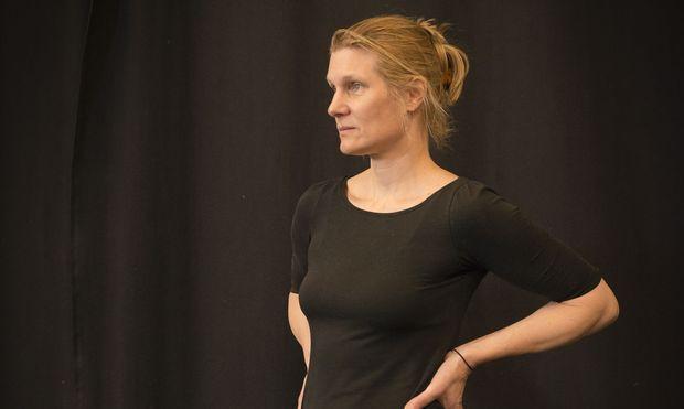 Saskia Hölbling (hier bei der Probe) gründete 1995 ihre Tanz-Company Dans.Kias.