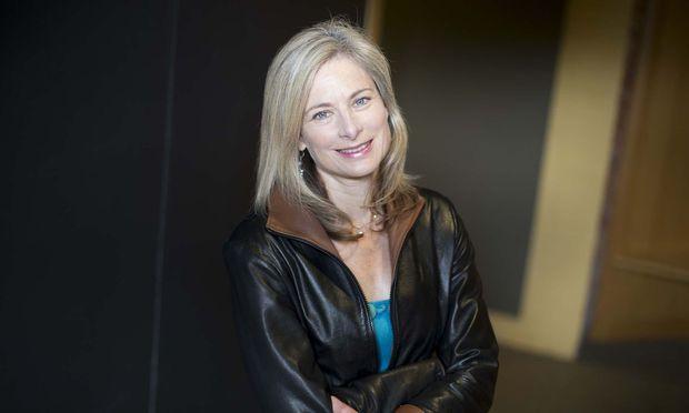 Starphysikerin: Lisa Randall, geboren 1962 in New York, Professorin an der Harvard University.
