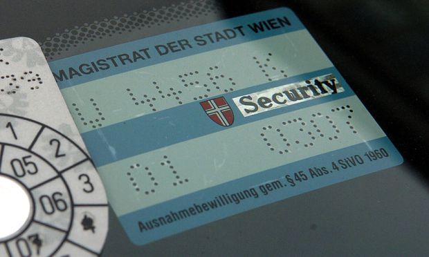 Wiener Beamter soll Parkpickerln