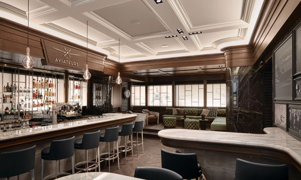 IWC hat seine erste Bar der Fliegerei gewidmet.