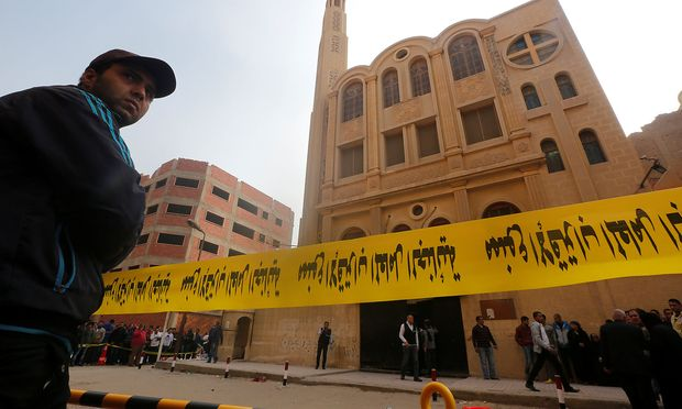 IS reklamiert Angriff auf koptische Kirche in Ägypten