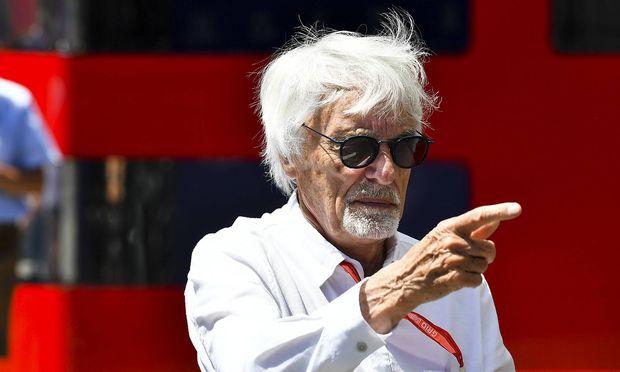 Bernie Ecclestone in Spielberg