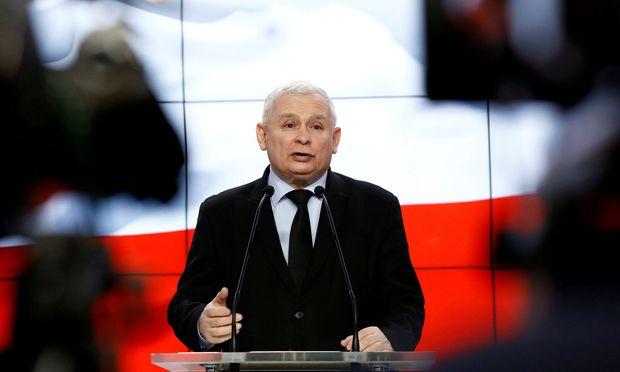 PiS-Parteichef Jaroslaw Kaczynski gilt als Mastermind der polnischen Justizreform.