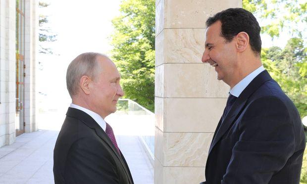 Putin, Assad