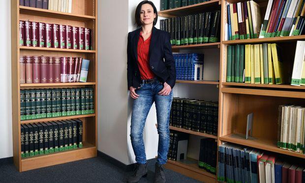 Kürzlich hat sie sub auspiciis promoviert: Krystina Kubina erforscht viele der 25.000 Verse, die der Dichter Manuel Philes hinterlassen hat.
