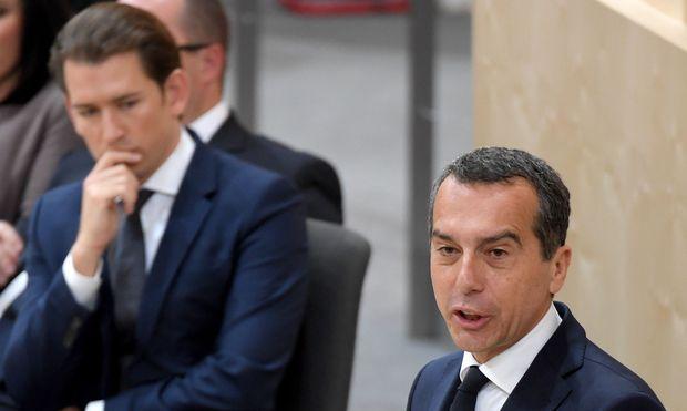 SPÖ-Chef Christian Kern nennt eine Koalitionsbedingung