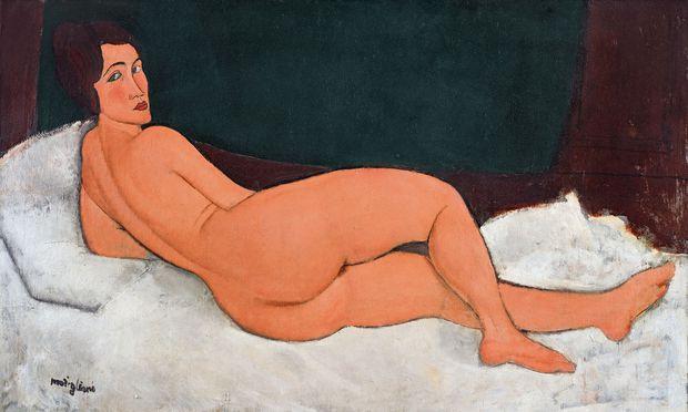 """Modiglianis """"Liegender Akt"""" war heuer das teuerste versteigerte Werk."""