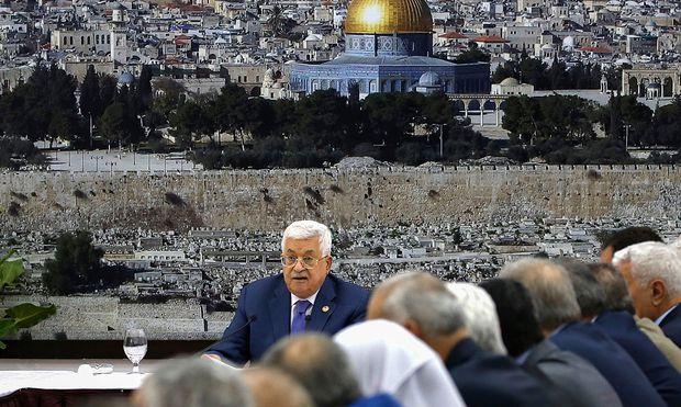 Streit mit Israel: Abbas droht mit Aufkündigung von Friedensverträgen
