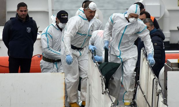 Tote nach Untergang von Flüchtlingsboot im Mittelmeer