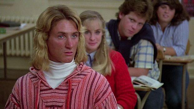 """Der blutjunge Sean Penn in der Teenie-Dramödie """"Ich glaub', ich steh' im Wald""""."""