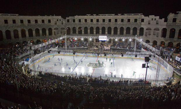 EishockeyCracks statt Gladiatoren