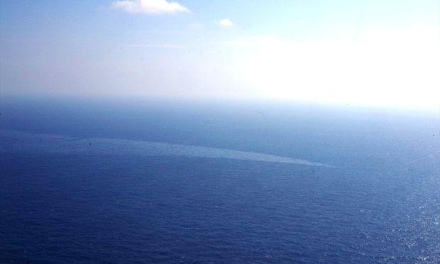 Ostchinesisches MeerÖlteppich nach Tanker-Untergang verdreifacht