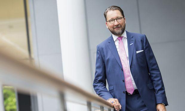 Der neue Konzernboss Martin Füllenbach. / Bild: (c) Semperit