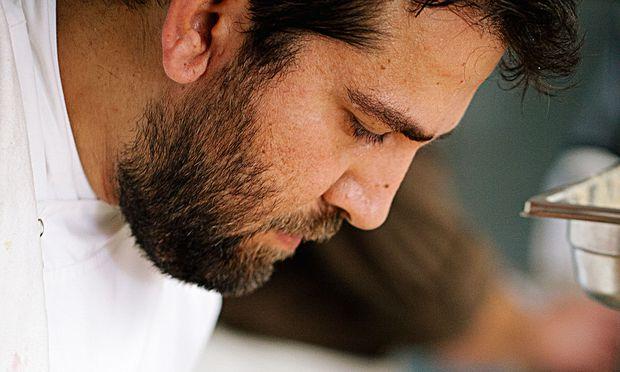 Front. Einer der wichtigsten Protagonisten der neuen anatolischen Küche: Maksut Aşkar vom Neolokal.